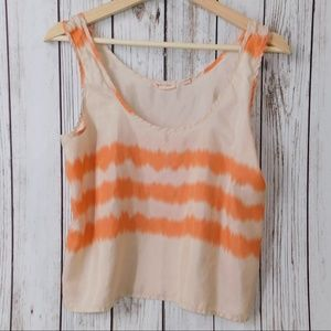 anthropologie silence + noise crop top size M